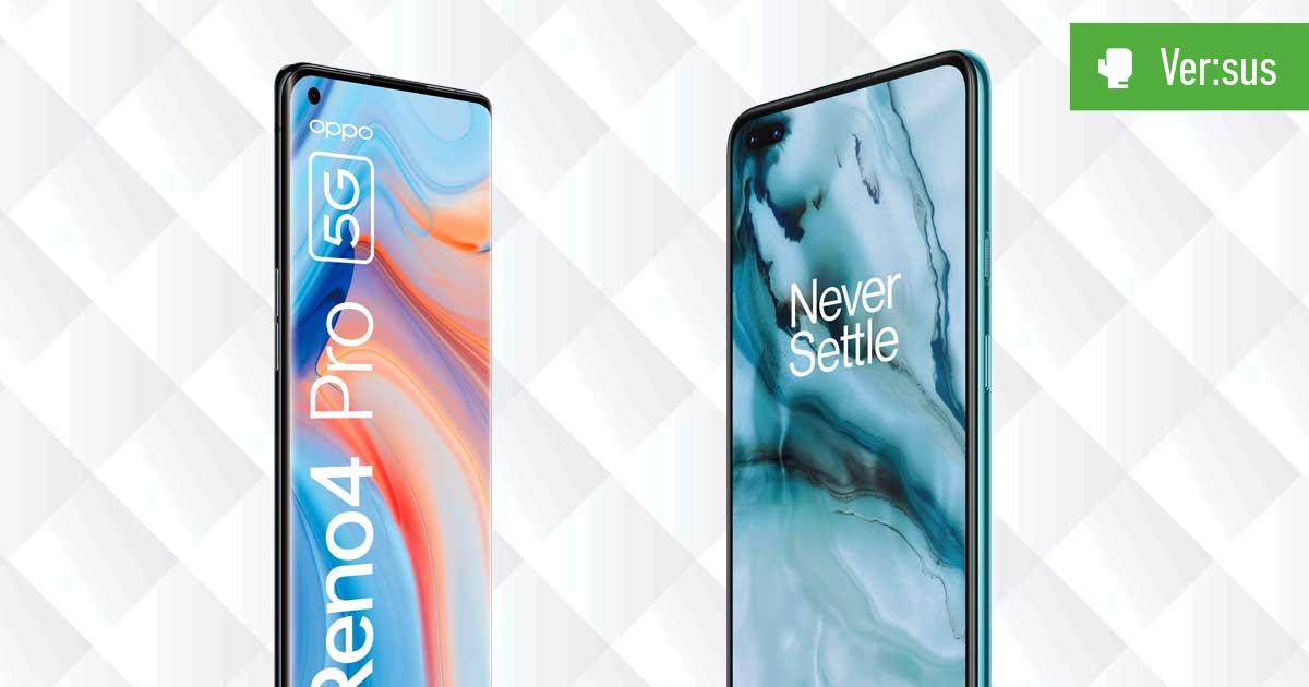 OPPO Reno4 Pro 5G vs. OnePlus Nord
