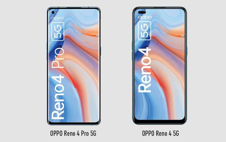 OPPO Reno4 5G vs. OPPO Reno4 Pro 5G