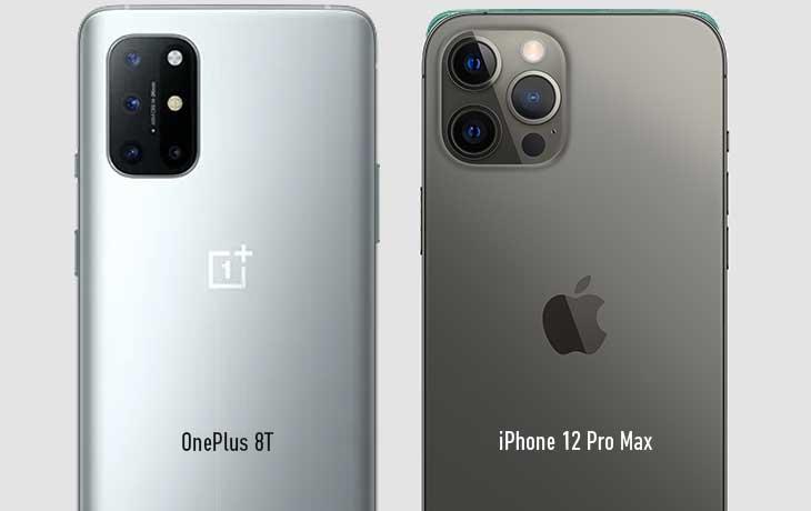 OnePlus 8T vs iPhone 12 Pro Max Kamera