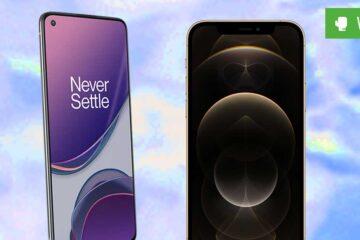 OnePlus 8T vs. iPhone 12 Pro