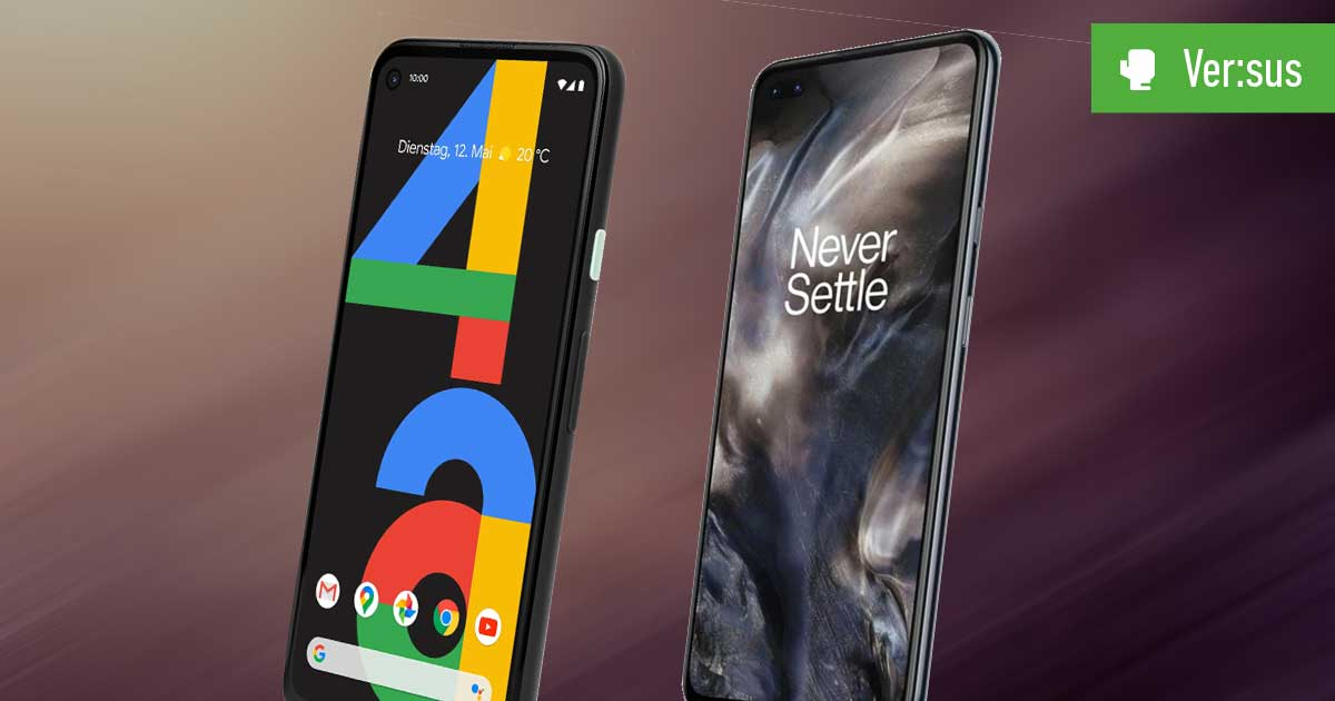 Pixel 4a vs. OnePlus Nord