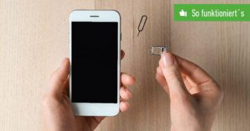 SIM-Karte wechseln bei Android und iOS – So funktioniert's