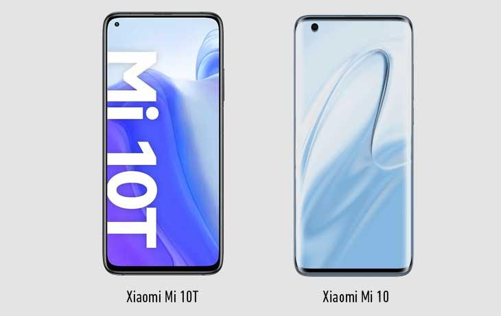 Xiaomi Mi 10T vs. Xiaomi Mi 10
