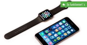 Apple Watch einrichten und konfigurieren – So funktioniert's