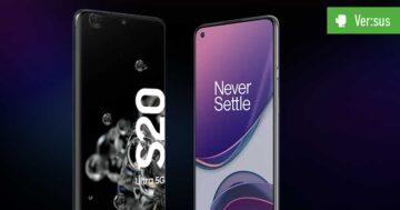 OnePlus 8T vs. Samsung Galaxy S20 Ultra 5G: Vergleich der Flaggschiffe