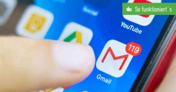 Gmail: Adresse ändern – So funktioniert's am Handy