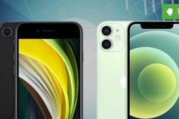iPhone 12 mini vs. iPhone SE