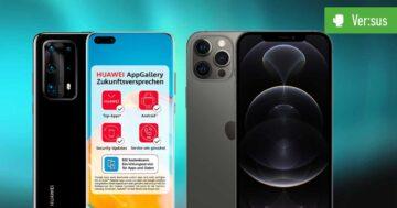 iPhone 12 Pro Max vs. HUAWEI P40 Pro Plus – Zwei Riesen geben sich die Ehre