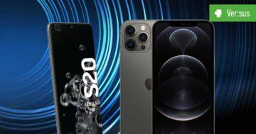 iPhone 12 Pro Max vs. Galaxy S20 Ultra 5G - Das Duell der Branchen-Schwergewichte