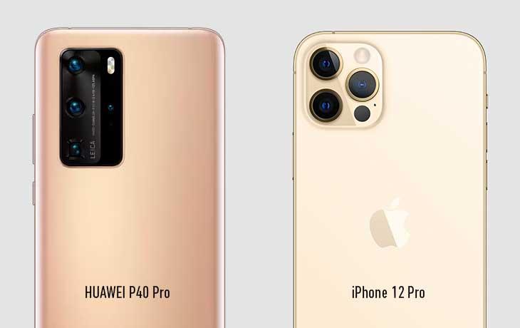 iPhone 12 Pro vs. HUAWEI P40 Pro