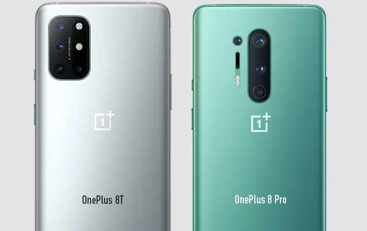 OnePlus 8T vs. OnePlus 8 Pro: Kamera
