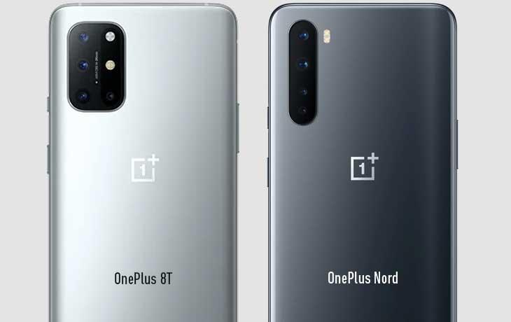 OnePlus 8T vs. OnePlus Nord: Kamera