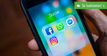 WhatsApp-Status bei Facebook und Instagram als Story posten