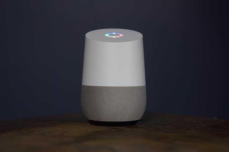 Google Home-Gerät ist aktiviert.