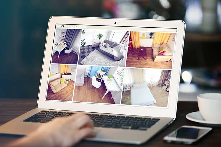 Smart Home macht die Überwachung der eigenen vier Wände ganz einfach.