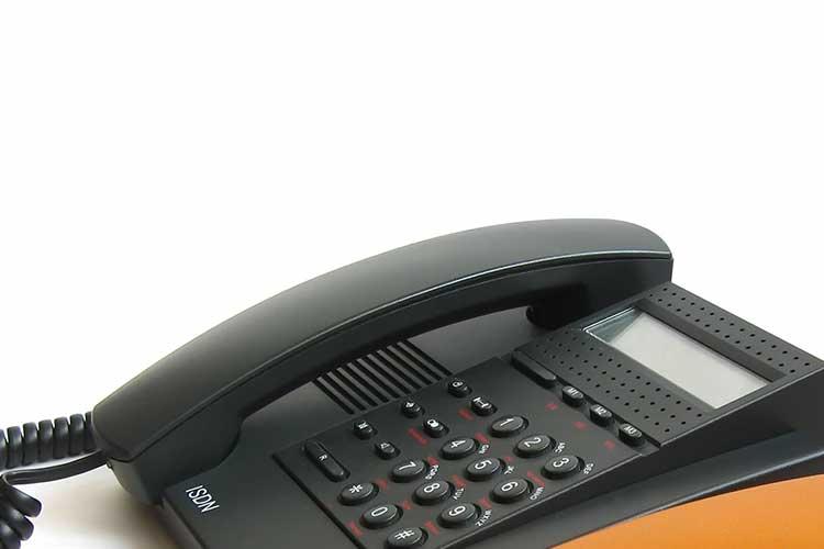 DSL: altes Telefon mit ISDN
