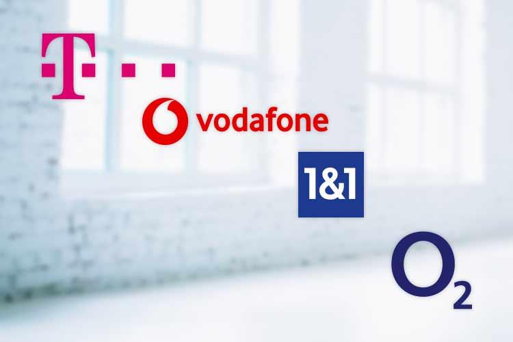 Router von der Telekom, 1&1, Vodafone und O2