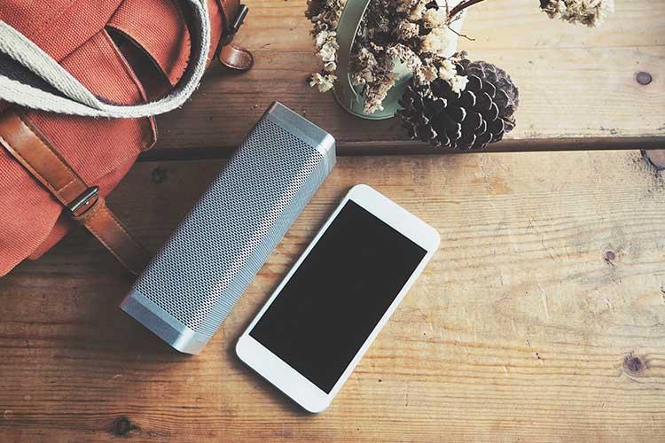 Bluetooth Übertragung zwischen Handy und Lautsprecher