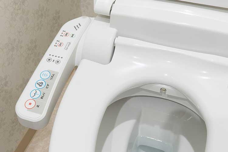 Steuerung WC Sitz