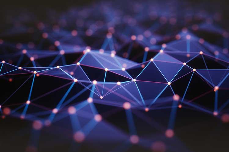 Mesh-Netzwerk Symbolbild.