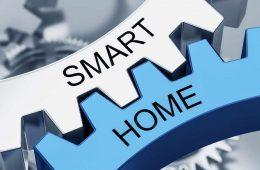 Smart Home Hub - Zahnräder Symbolbild