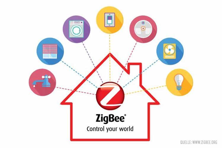 Anwendungsbereiche für den Funkstandard ZigBee im SmartHome