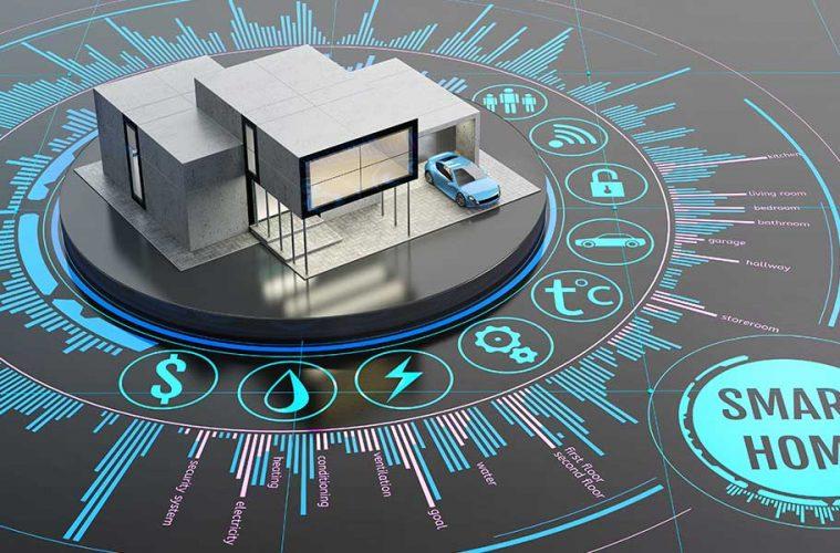 ZigBee vs Z-Wave: Modell eines Smart Homes