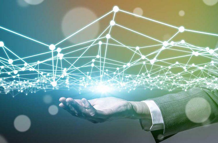 ZigBee: Hologramm zeigt Vernetzung des Internet of Things