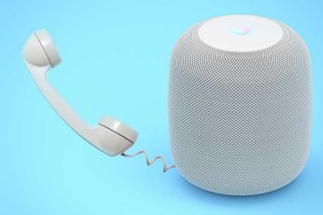 Apple HomePod kommt mit direkter Möglichkeit zu telefonieren.