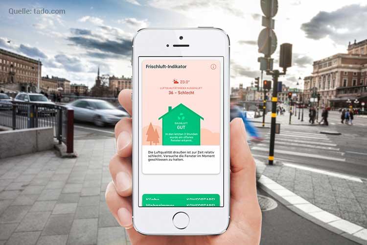 Smartes Tado Thermostat installieren: Smartphone
