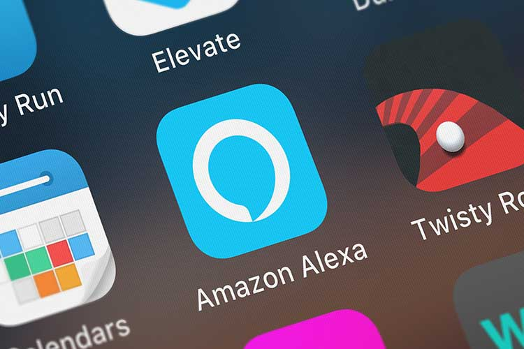 Alexa Einkaufsliste: Alexa App