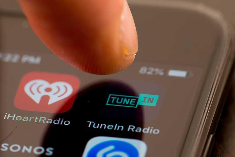 HomePod Radio hören